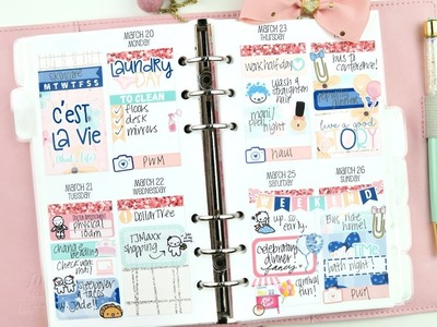 Personal Plan with Me ft. Little Miss Paperie!