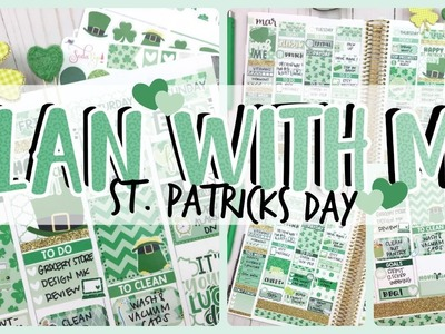 Plan With Me! #41 ❤️ Mar 13-19th ❤️ St Patricks Day Kit Ft. Soda Pop Studio
