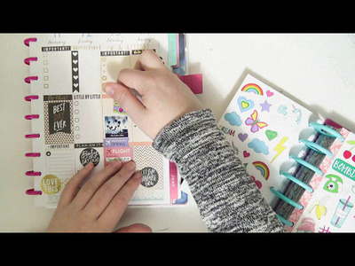 Plan With Me ~ Black And Gold ~ MAMBI Happy Planner