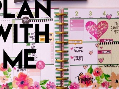 Plan with Me: February 27-March 5, 2017 {Classic Happy Planner® + ONLY Happy Planner® stickers}