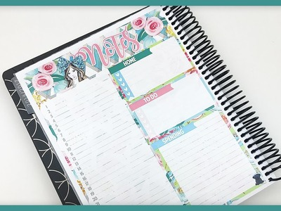 Plan With Me. First Ever SPC Notes Page! (Erin Condren - Vertical)