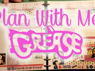 Plan with Me Grease Theme  Victoria Thatcher