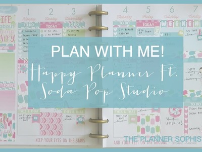 Plan with Me! \\ Happy Planner \\ Ft Soda Pop Studio