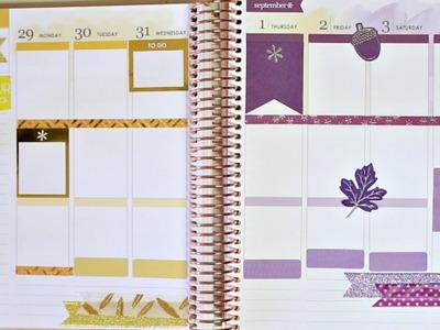 Plan With Me in the NEW Erin Condren Planner | JaaackJack