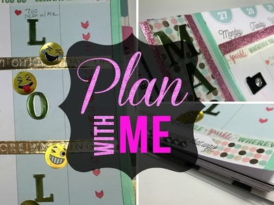 PLAN WITH ME | MARCH 27 - APRIL 2