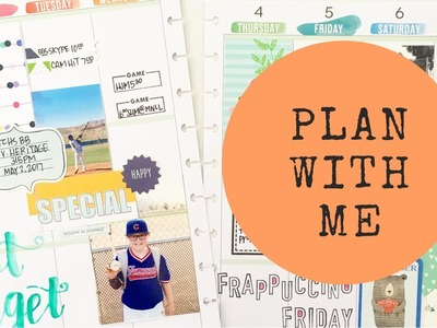 Plan With Me: May 1-7, 2017 {Memory Planning in the BIG Happy Planner®}
