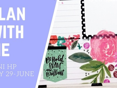 Plan with Me- mini Happy Planner- May 29-June 4