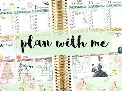 Plan with Me: Mints & Macarons