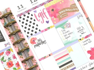 Plan With Me - NO Etsy Kit: Mambi Boxes | The Happy Planner 2017