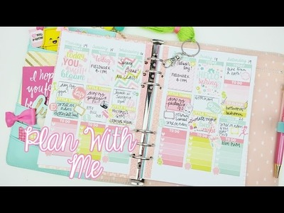 Plan With Me: Week 11! ♥ Spring Break | Mint Kikki.k