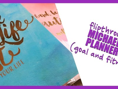 Planner Haul | NEW Recollections Goal and Fitness Planners!