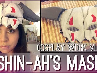 Shin-Ah's Mask - Cosplay Work Vlog | Yona of the Dawn || shainadilla