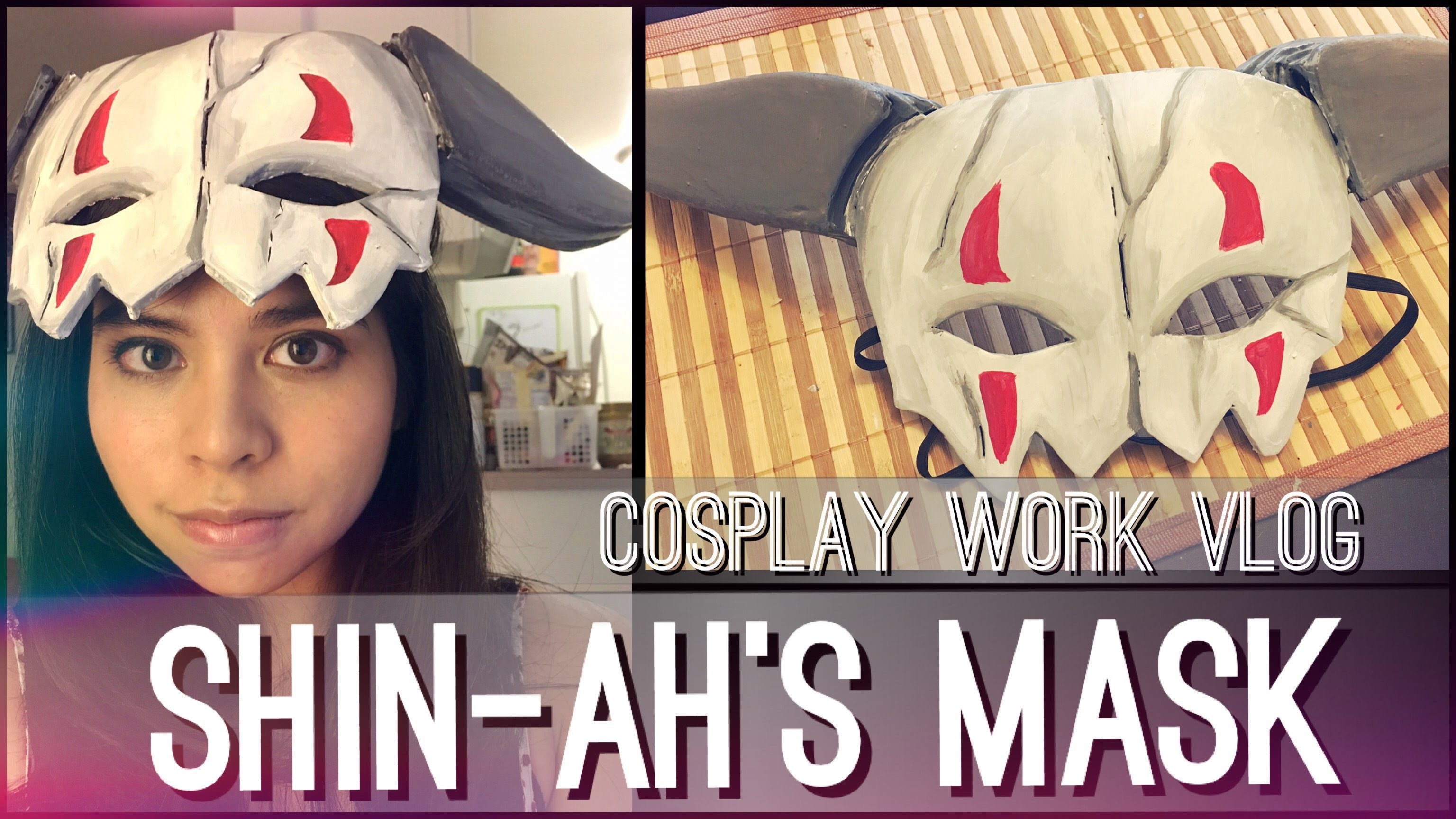 Shin-Ah's Mask - Cosplay Work Vlog | Yona of the Dawn || shainadilla