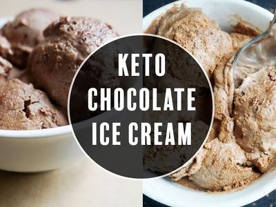 The Best Low Carb Ice Cream Recipe | Easy Keto Ice Cream