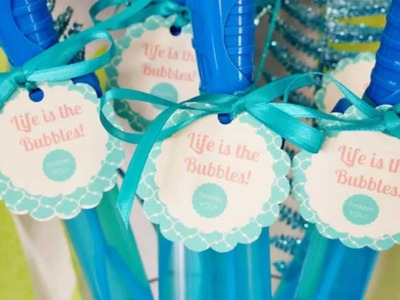 The Little Mermaid Party Favors