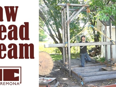 The Saw Head Beam - Building a Large Bandsaw Mill - Part 6