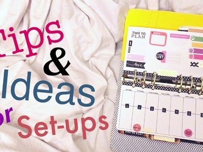 Tutorial: Personal Planner Set-up ideas and Inserts for Functional Planner Peace