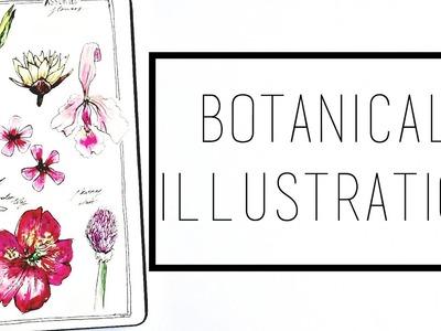 Watercolour Flower Studies · 30 Ways to Fill a Sketchbook · SemiSkimmedMin