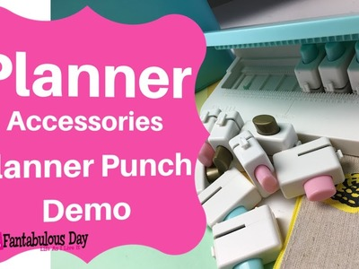 We R Memory Keepers Planner Punch Board Demo, How to use the  We Are Memory Keepers Punch