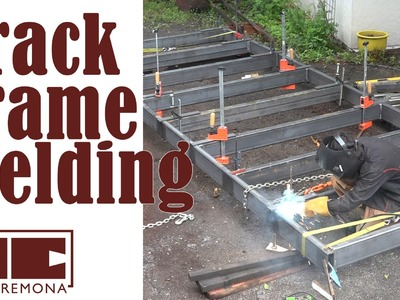 Welding the Track Frame - Building a Large Bandsaw Mill - Part 3