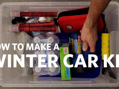 Winter How to Make a Winter Car Kit