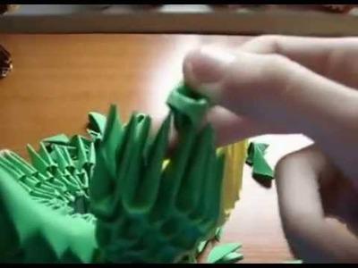 Origami Convenient Foldable Box Paper Bowl
