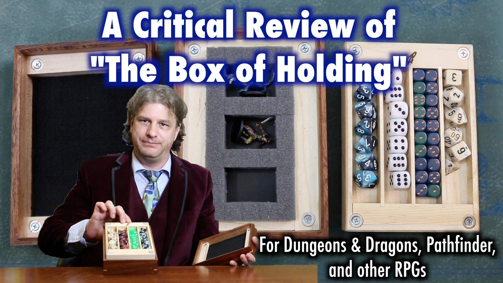 A Critical Review of The Box Of Holding for Dungeons & Dragons, Pathfinder, and other RPGs