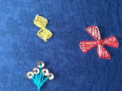 AARI WORK : DIFFERENT DESIGNS WITH FILLING STICH
