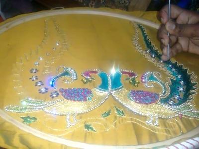 Aari work