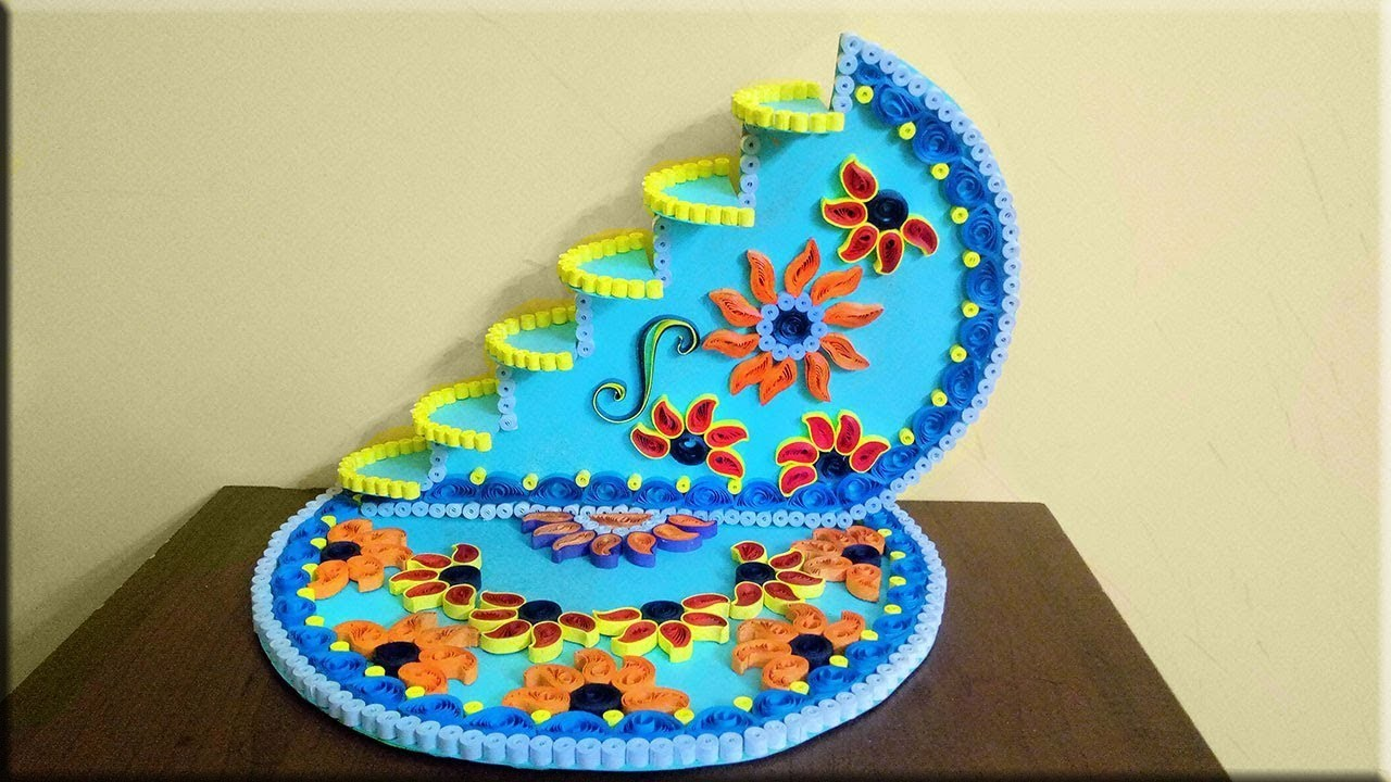 Beautiful Paper Quilling Designs For Home Decor Paper Quilling Art