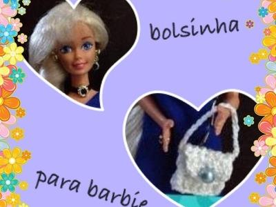 Bolsinha de croche *barbie* - LiiArt