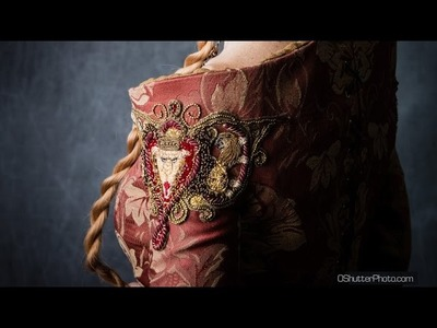 "Cersei's ""Purple Wedding"" Dress Embroidery"