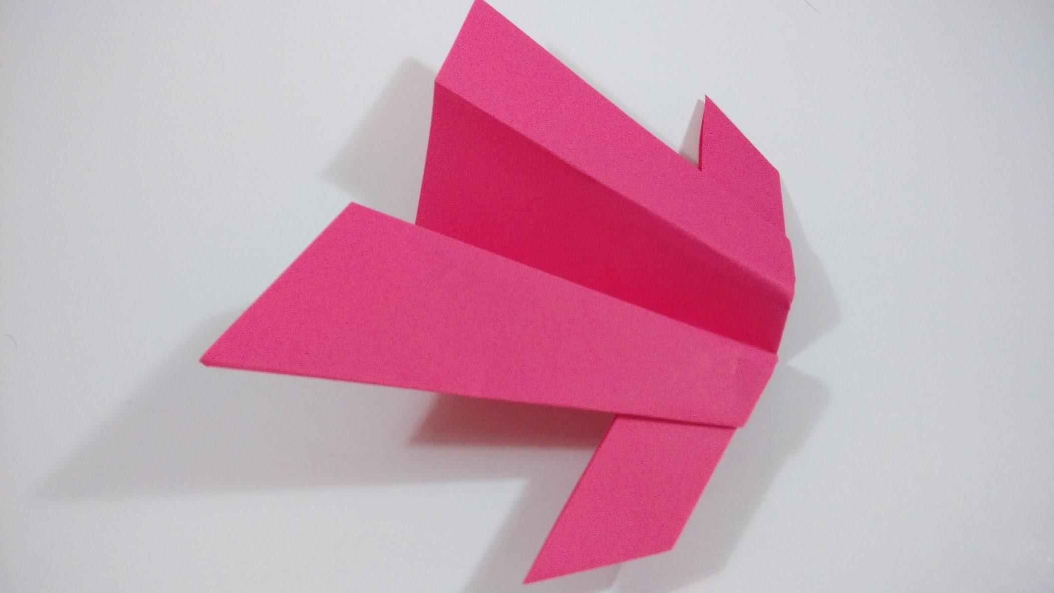 Como hacer un avion ninja planeador de papel for Como aser un criadero de mojarras