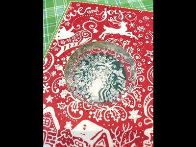 Day 30. Starbucks Cup Card and Starbucks Shaker Gift Card