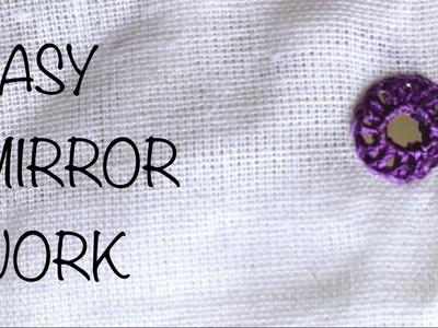 EASY MIRROR WORK | Round shape |Lawanprakash