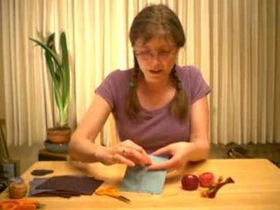 Embroidery Tutorial : Running Stitch