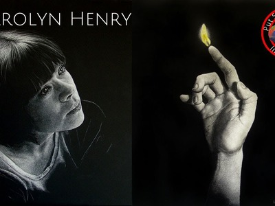 Fine art tips with a Free Scratch Board Art Lessons from Carolyn Henry on Colour In Your Life