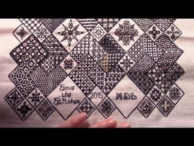 FINISH: Save the Stitches (Liz Almond's Blackwork Journey)