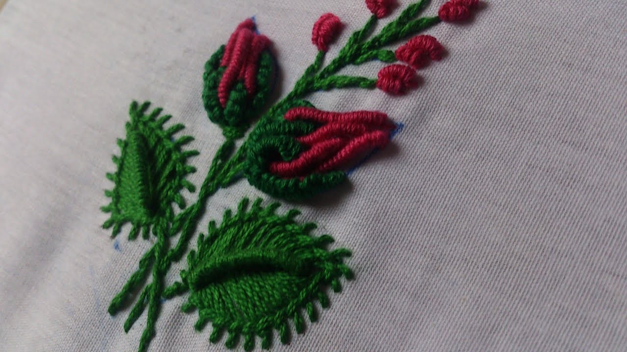 Hand Embroidery Designsautiful Tiny Design For Dresses Hand