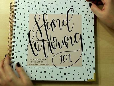 Hand Lettering 101 {walk through} + Ink Joy Gel Pens