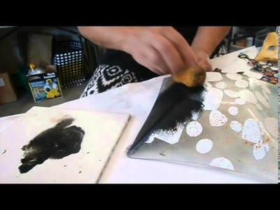 How to Decoupage a Glass Dish