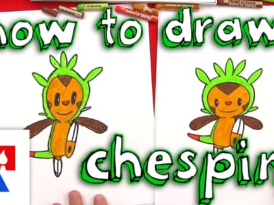 How To Draw Chespin From Pokemon