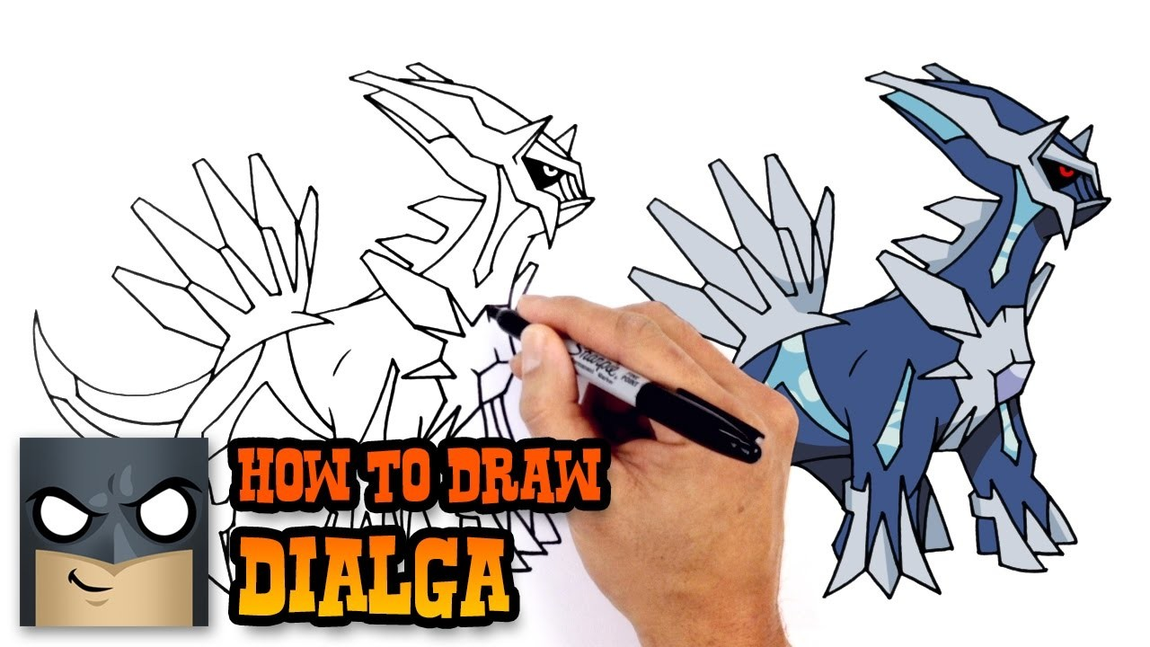 How to Draw Dialga, Pokemon
