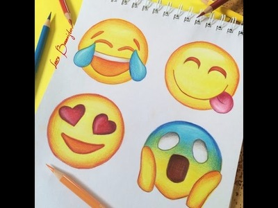 How to draw emojis!
