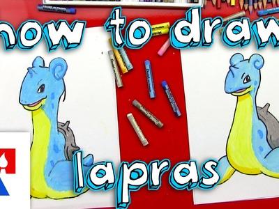 How To Draw Lapras