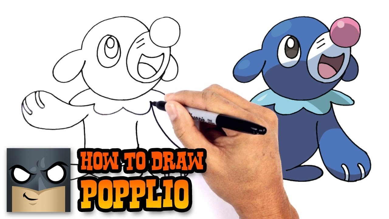How to draw popplio pokemon for Bakery crafts sps tier system