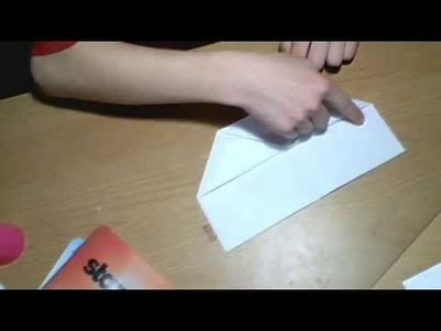 How to fold a paper airplane that loops