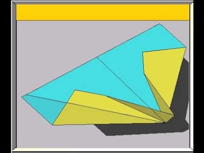 How To Fold The Catfish Paper Airplane