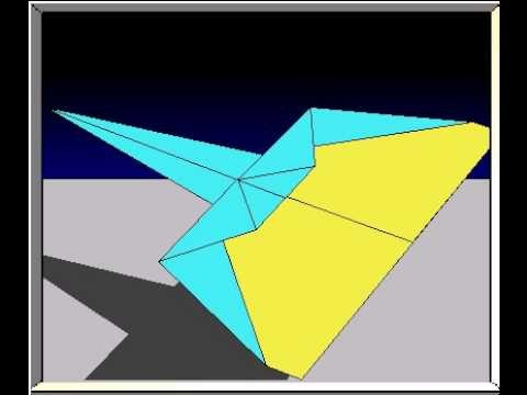 How to Fold the Marlin Paper Airplane