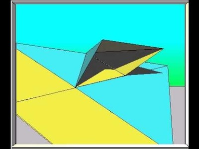 How to fold the Pelican Paper Airplane